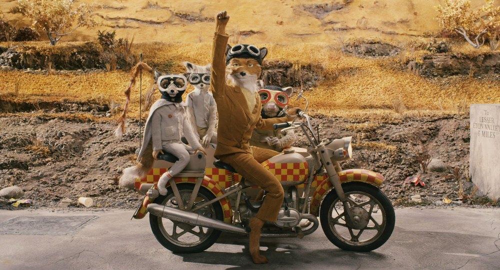 Because I Am A Wild Animal Fantastic Mr Fox On Identity Filmpervert